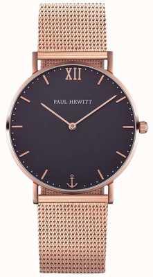 Paul Hewitt Braccialetto in oro rosa di marinaio unisex PH-SA-R-ST-B-4M