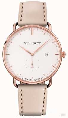 Paul Hewitt Womans il grande atlante in oro rosa in acciaio inox PH-TGA-R-W-22S