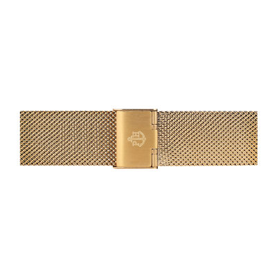 Paul Hewitt Cinturino in maglia di acciaio inossidabile oro taglia s PH-M1-G-4S