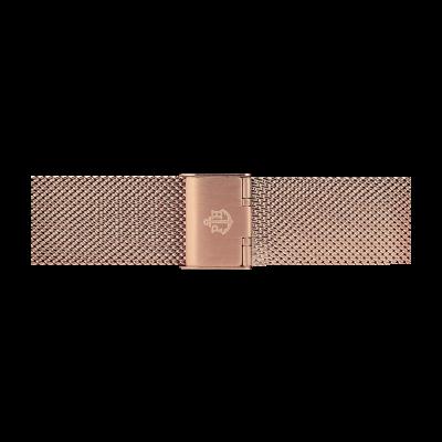 Paul Hewitt Bracciale in maglia di acciaio inossidabile oro rosa 186mm PH-M1-R-4M
