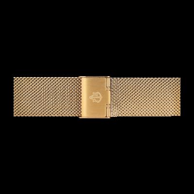 Paul Hewitt Cinturino in maglia di acciaio inossidabile oro taglia m PH-M1-G-4M