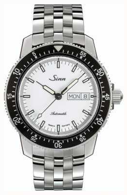 Sinn 104 st sa iw classico cinturino in acciaio inossidabile orologio pilota 104.012 BRACELET
