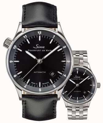 Sinn 6068 cinturino / braccialetto impostato automatico distretto finanziario frankfurt 6068.010