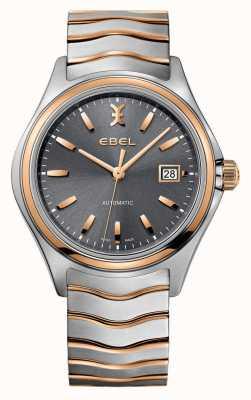 EBEL L'uomo trasforma due orologi tono-grigio 1216333