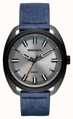 Diesel Cinturino in pelle in cotone denim-fastbak uomo DZ1838