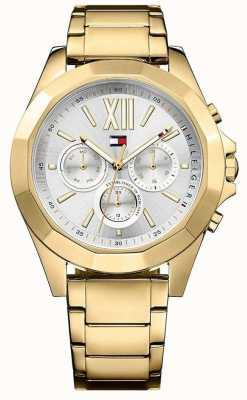 Tommy Hilfiger Cronografo orologio da donna in oro chelsea 1781848