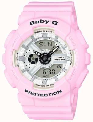 Casio Donna rosa rosa baby-g BA-110BE-4AER