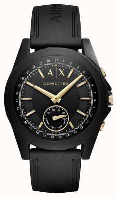 Armani Exchange Mens collegato smartwatch ibrido in nero AXT1004