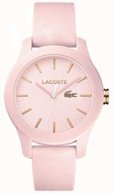 Lacoste Womans 12.12 guarda rosa 2001003