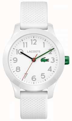 Lacoste Bambini 12.12 orologio bianco 2030003