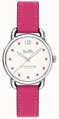 Coach Cinghia di cuoio rosa della vigilanza di Deliany Womans 14502906