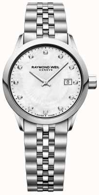 Raymond Weil Quadrante in madreperla freelance donna 5629-ST-97081
