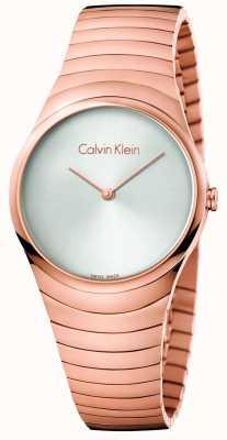 Calvin Klein Orologio in oro rosa in oro rosa in acciaio inossidabile K8A23646