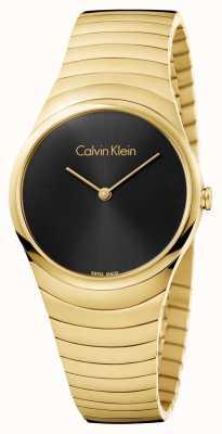 Calvin Klein Orologio da orologio in acciaio inossidabile da oro K8A23541