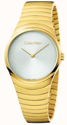 Calvin Klein Orologio da orologio in acciaio inossidabile da oro K8A23546