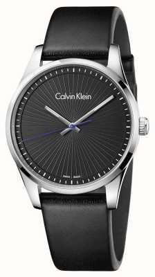 Calvin Klein Mens vigile orologio nero K8S211C1