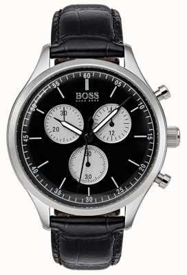 Boss Orologio da uomo cronografo compagno nero 1513543