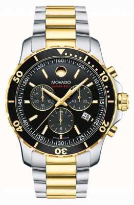 Movado Orologio cronografo da uomo serie 800 | cinturino in acciaio inossidabile 2600146