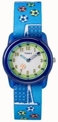 Timex Calcio analogico blu della cinghia di gioventù TW7C165004E