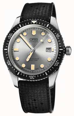 Oris Mens diversificano 60 orologi di cinghia di gomma 01 733 7720 4051-07 4 21 18
