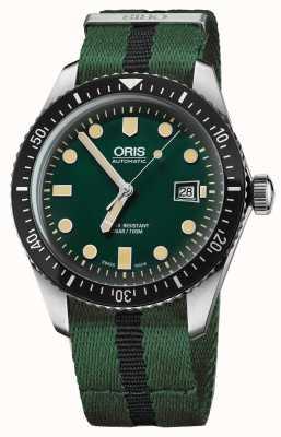 Oris Mens diversificano sessantacinque cinturini nato verde 01 733 7720 4057-07 5 21 25FC