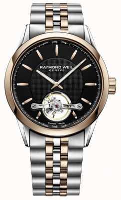 Raymond Weil Libero professionista automatico | cinturino in acciaio bicolore | 2780-SP5-20001