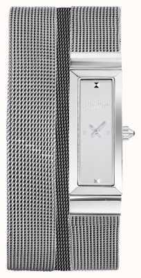 Jean Paul Gaultier Braccialetto della maglia di acciaio inossidabile delle donne di cote de maille JP8503901