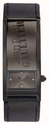 Jean Paul Gaultier Identite il quadrante grigio cinturino in pelle grigia JP8503703