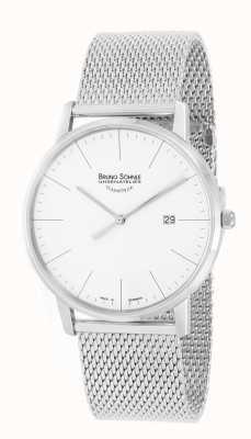 Bruno Sohnle Stoccarda i 42 millimetri orologio in acciaio inossidabile 17-13175-240