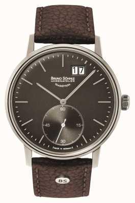 Bruno Sohnle Stoccarda ii 42 millimetri orologio in pelle marrone 17-13179-841