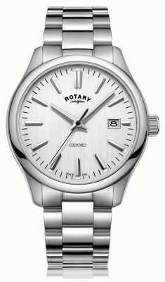Rotary Orologio da uomo con cinturino in acciaio inossidabile oxford GB05092/02