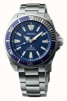 Seiko Prospex samurai automatico quadrante blu 200 m SRPB49K1