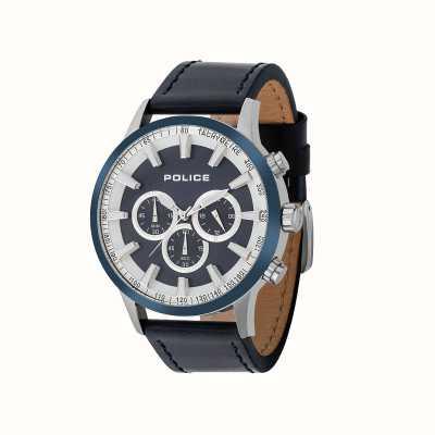 Police Orologio da uomo con cronografo a impulso momentaneo 15000JSTBL/03