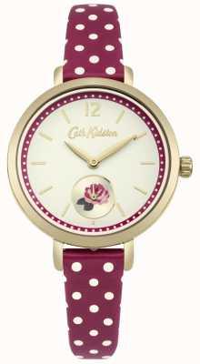 Cath Kidston Cinturino stampa rose cinturino stampa Berry CKL036RG