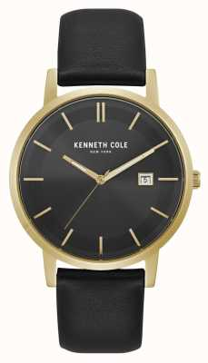 Kenneth Cole Quadrante nero quadrante nero con quadrante nero KC15202002