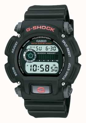 Casio Cronografo in resina nera digitale G-shock DW-9052-1VER