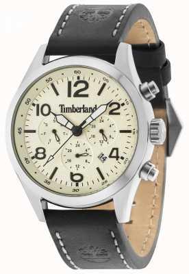 Timberland Multi crema cinturino in pelle nera Ashmont 15249JS/07