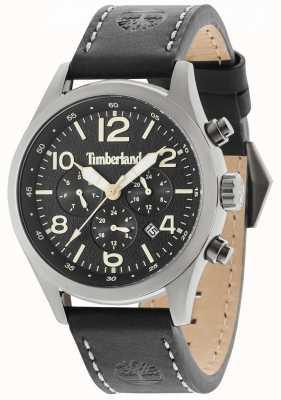 Timberland Quadrante nero con cinturino in pelle nera Ashmont 15249JSU/02