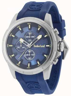 Timberland Quadrante blu con cinturino in silicone blu 15253JS/03P
