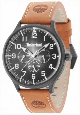 Timberland Cinturino in pelle marrone quadrante marrone Blanchard 15270JSB/02