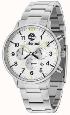 Timberland Bracciale argento con quadrante argentato multicolor 15263JS/01M