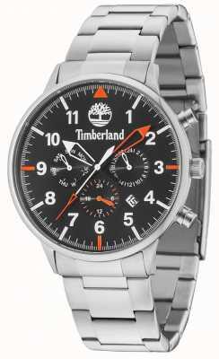 Timberland Bracciale in argento con quadrante nero multiuso 15263JS/02M