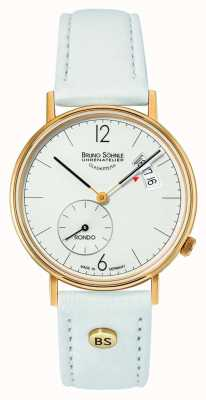 Bruno Sohnle Womans rondo 33mm quadrante bianco datario 17-33192-263