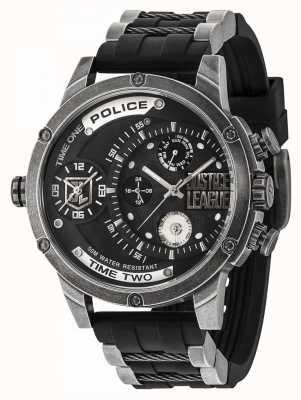 Police Edizione del rivenditore di orologi in edizione limitata della Justice League 14536EDG