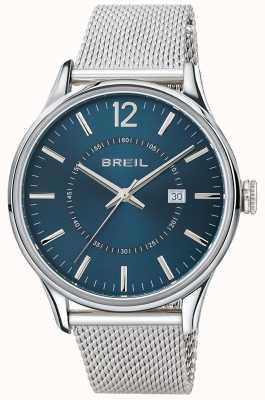 Breil Bracciale con quadrante blu in acciaio inossidabile Contempo TW1560