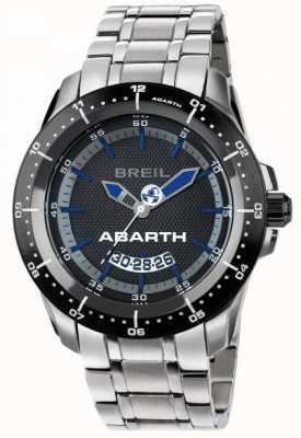 Breil Quadrante nero e blu in acciaio inox Abarth TW1487
