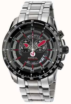 Breil Cronografo IP in acciaio inossidabile Abarth quadrante nero e rosso TW1491
