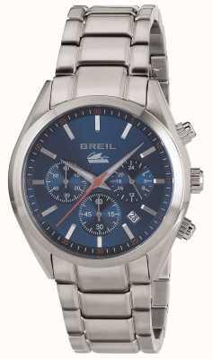 Breil Manta city cronografo in acciaio inossidabile con cinturino in acciaio inossidabile TW1605