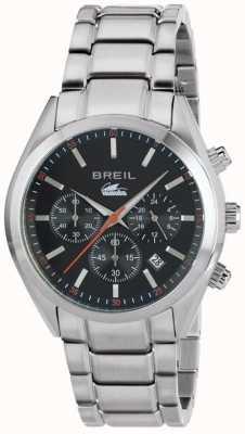 Breil Manta city cronografo in acciaio inossidabile con cinturino nero TW1606