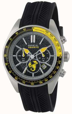 Breil Cronografo nero Abarth in acciaio inox nero e giallo TW1691